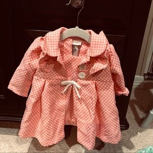 Bonnie baby dress with coat